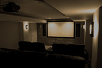 Rowe Carpentry: Princeton Home Theater